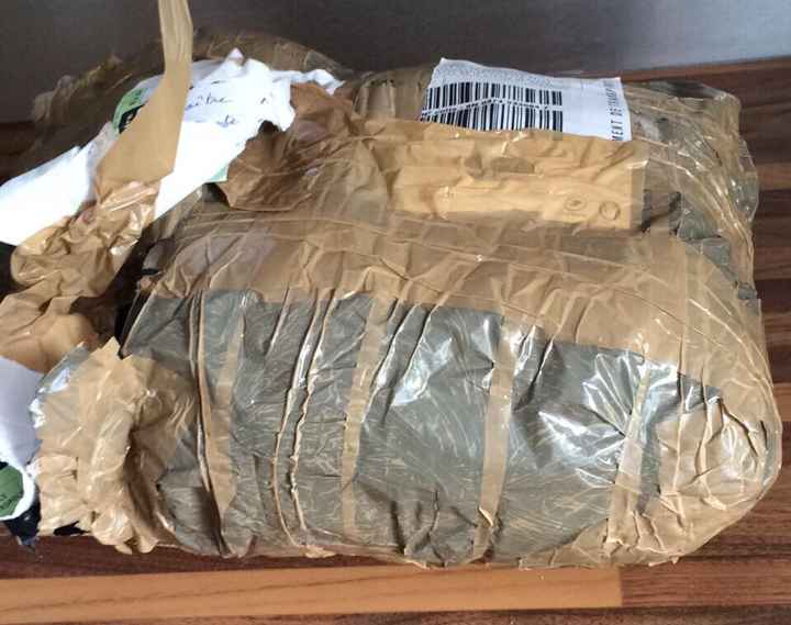 Emballage de ma robe - 2
