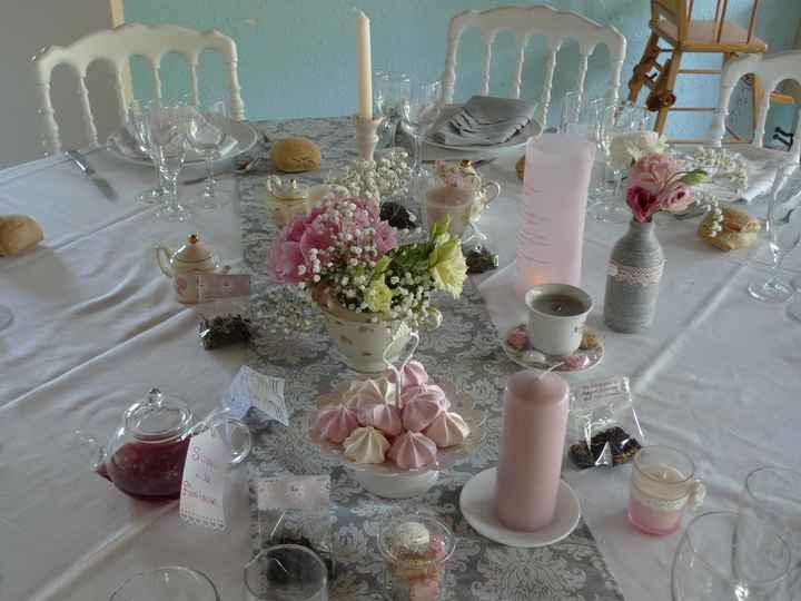 Table thé