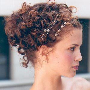 Coiffure Mariage Cheveux Frisu00e9s Mi Long