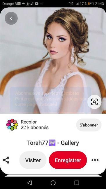 Avis chignon mariage 4