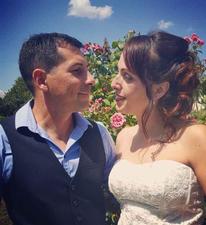 Nos 1 an de mariage 😍 - 1