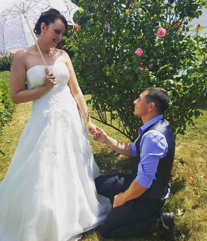 Nos 1 an de mariage 😍 - 2