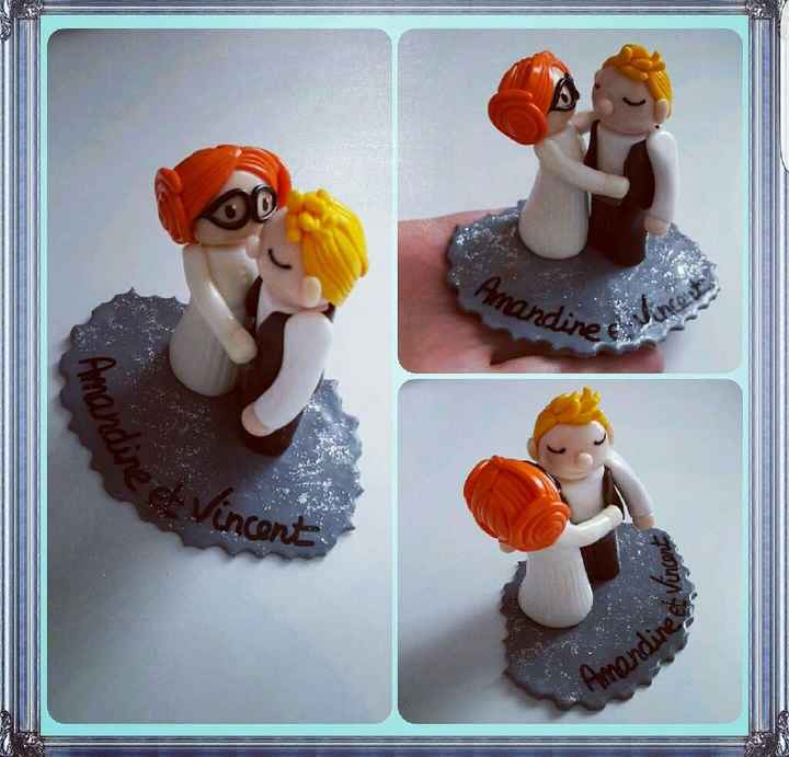 Ma figurine pour le gâteau ? - 1