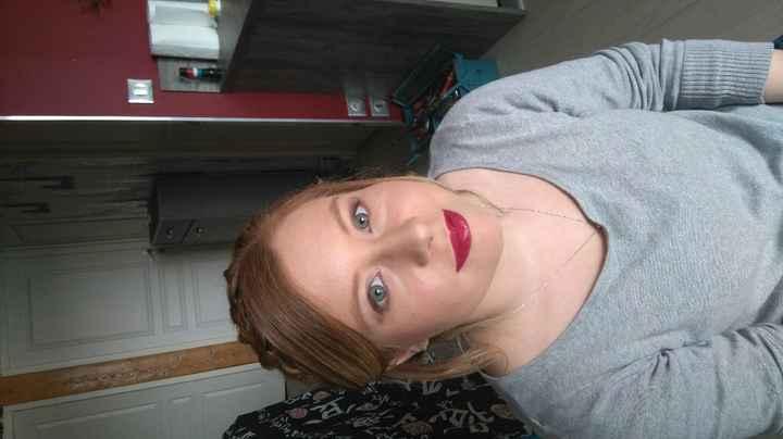 Essai coiffure et maquillage ;-) - 1