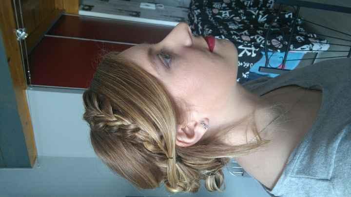 Essai coiffure et maquillage ;-) - 2
