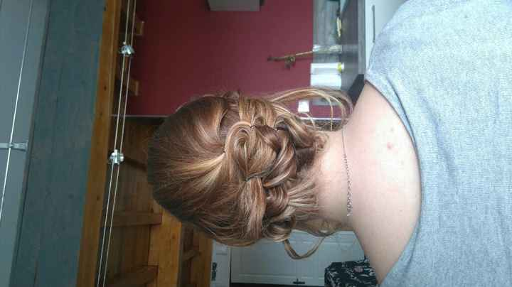 Essai coiffure et maquillage ;-) - 3