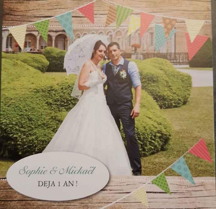 1 an de mariage - 1
