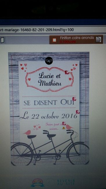 Save the date vintage - 1