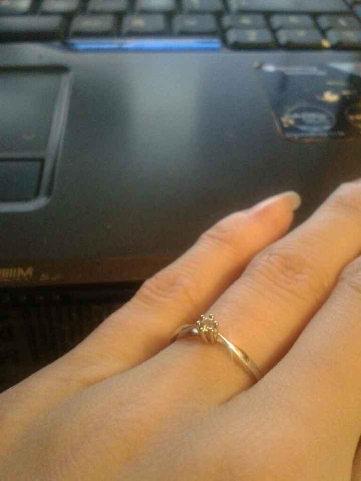 Photos de votre bague de fiançailles - 2