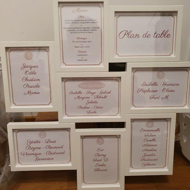Plan de table & Livre D'or ... 9