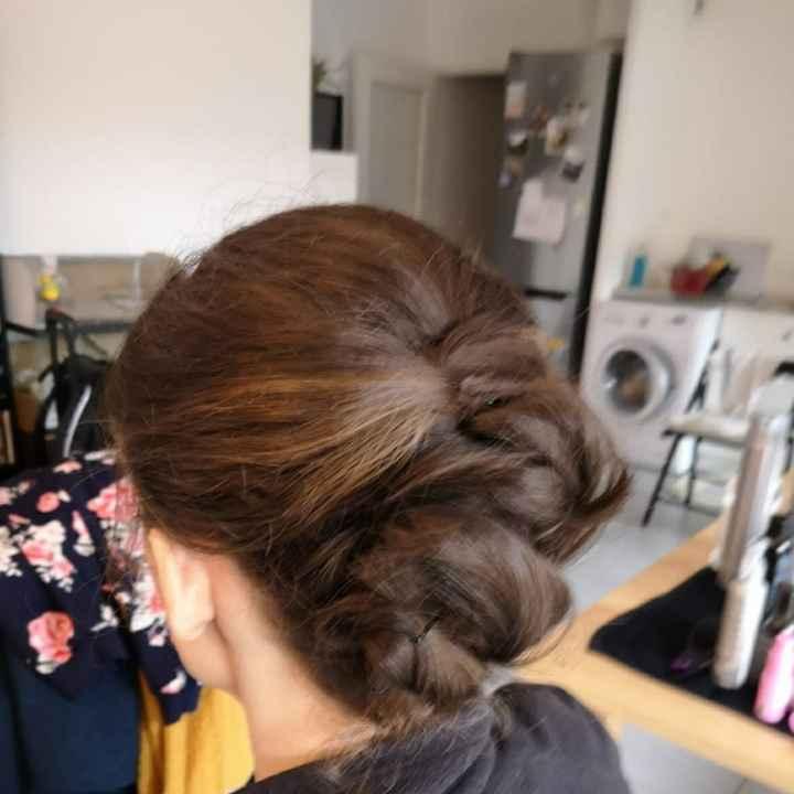 Essais coiffure - 1