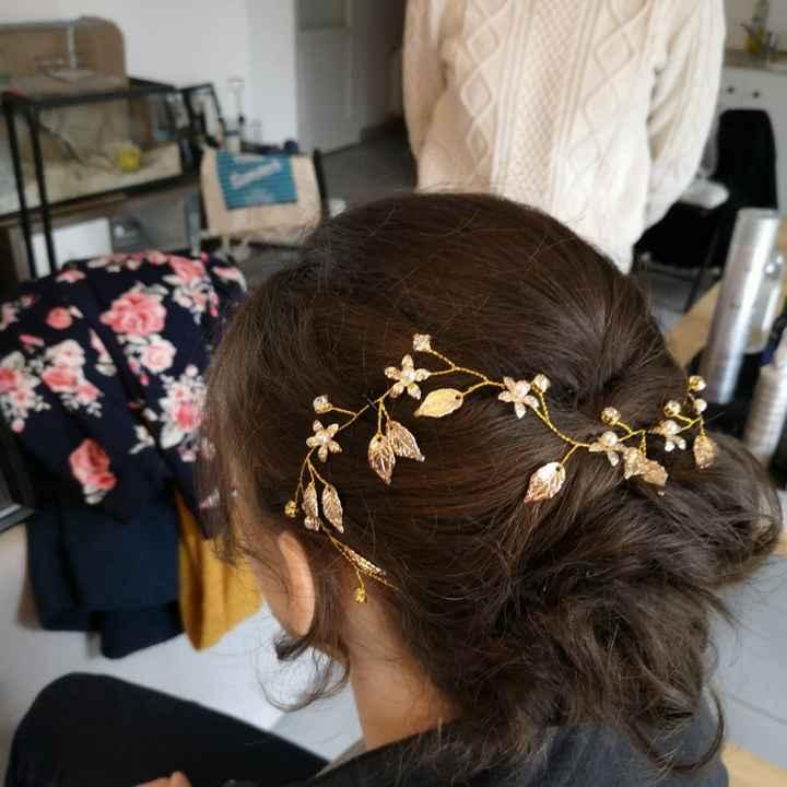 Essais coiffure - 3