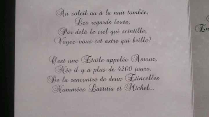 """Mes faire-parts """"amour etoilé"""" !! - 3"""