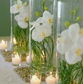 Recherche id es d coration pour centre de table vase for Centre de table bambou