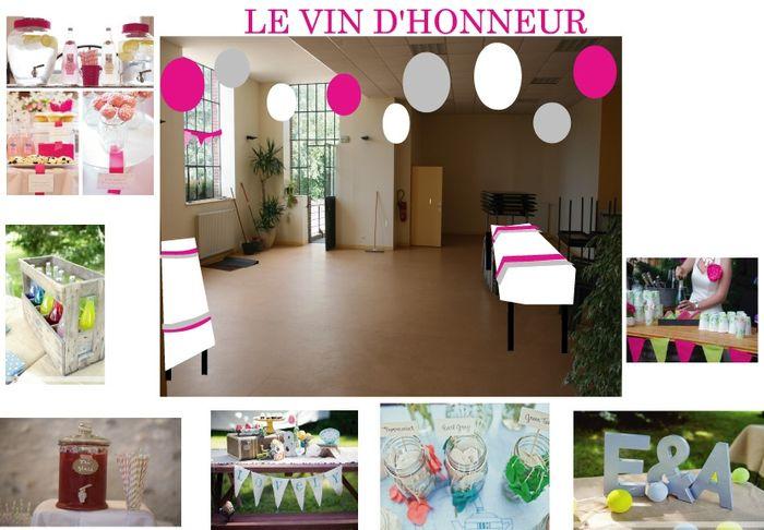 D coration du vin d 39 honneur d coration forum for Decoration table vin d honneur