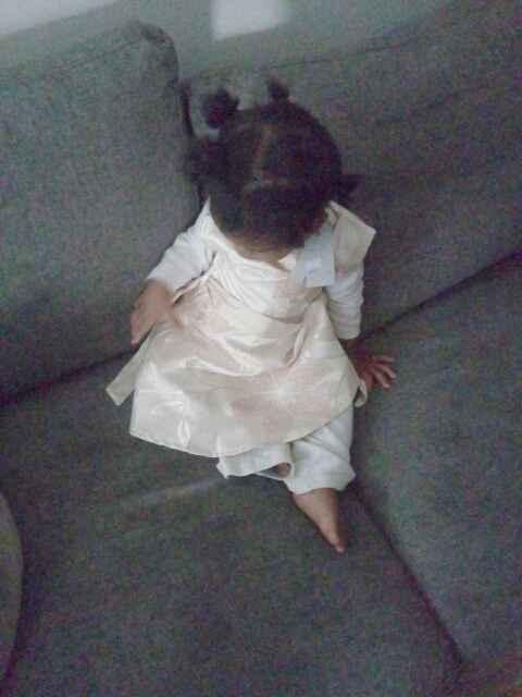 Enfin  la  robe  de  demoiselle d honneur - 1