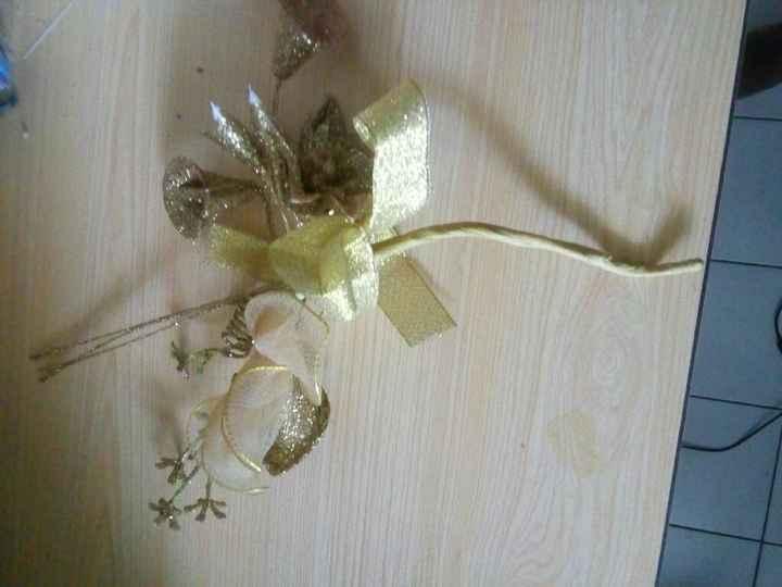 Souvenir de mes dragée dans une fleur - 2