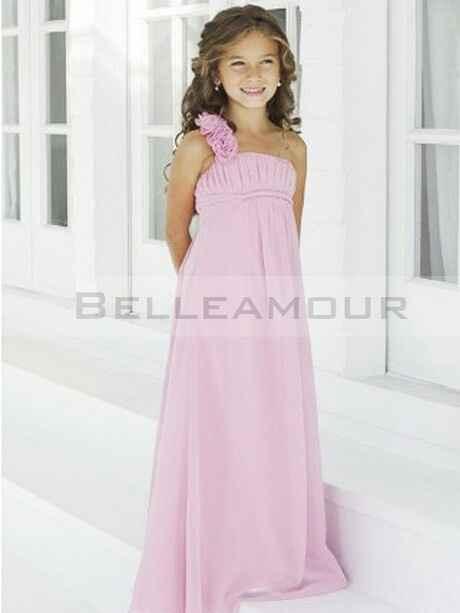 Robe de demoiselle d honneur pour petits fille. - 8
