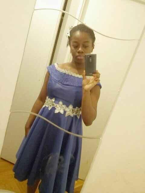 Ma robe d hôtesse pour un mariage - 1
