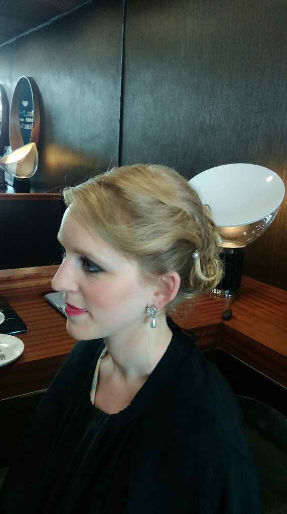 Essai maquillage et coiffure ! - 2