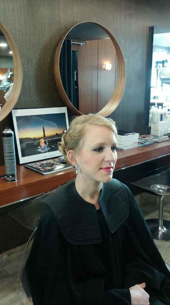 Essai maquillage et coiffure ! - 3