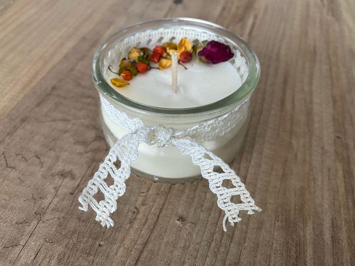Bougies à l'huile de coco - Essai 1 - 1
