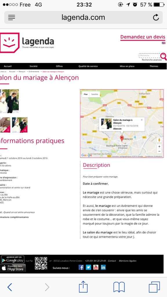 Salon du mariage alencon - 2