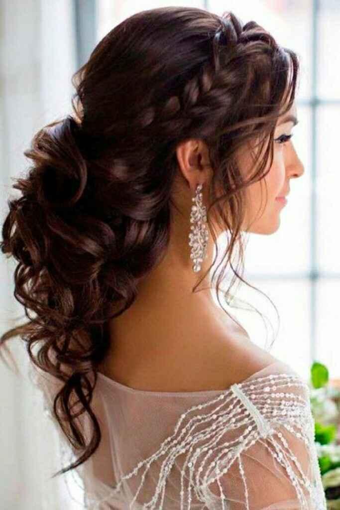 Voile et coiffure cheveux longs - 1