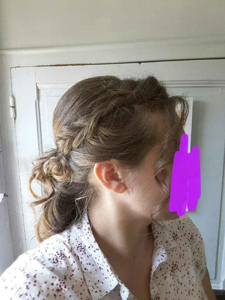 Essai coiffure ? 🤔 - 2