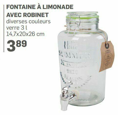 Fontaine à boisson gifi 2