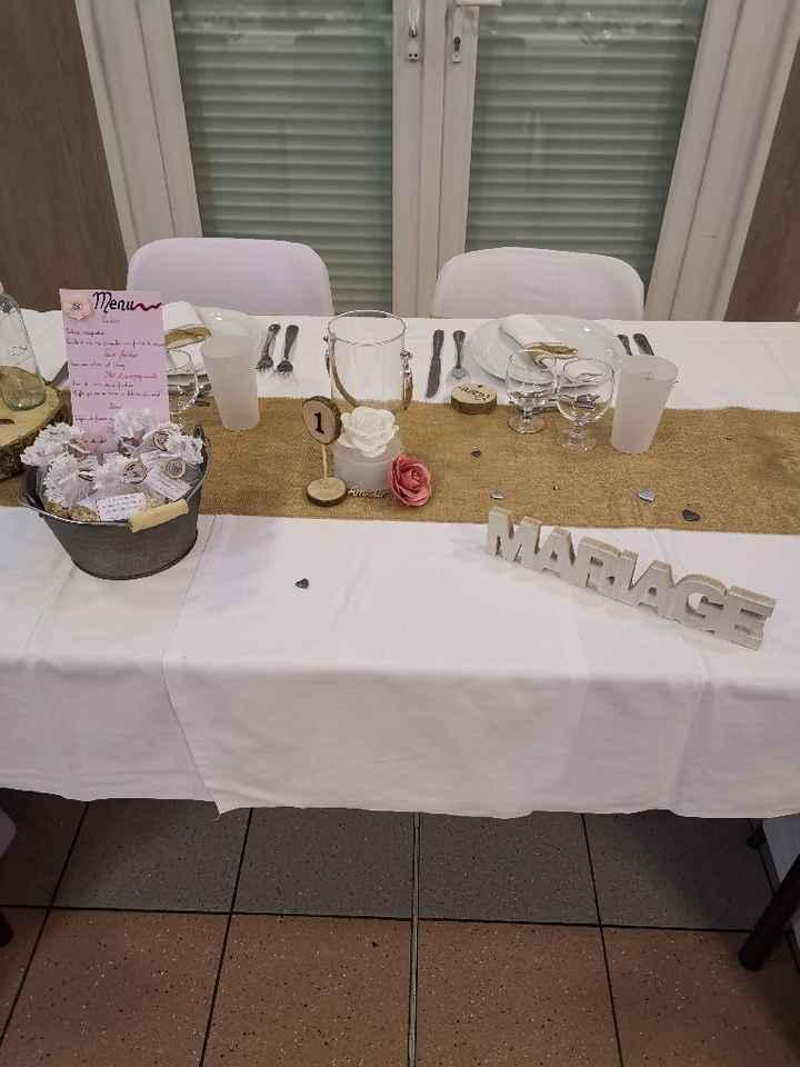 Table des mariés - 1