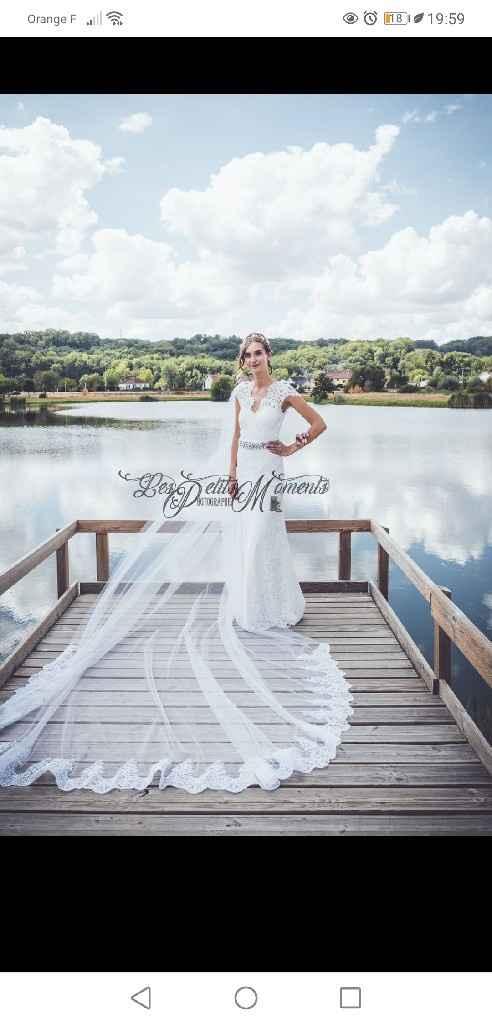 Idées de pose de photo de la mariée seule - 1
