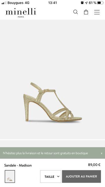 Choix chaussures 3