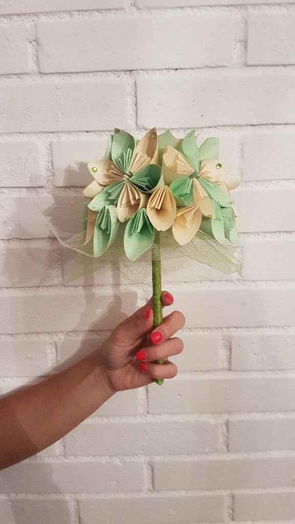 Bouquet pour le lancé - 1