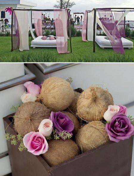 Noix De Coco Decoration Mariage : Déco quot noix de coco décoration forum mariages