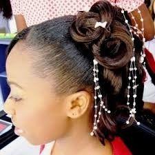 Coupe de cheveux pour petite fille black