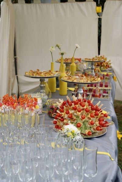 Id es d co vin d 39 honneur banquets forum - Idee deco buffet mariage ...