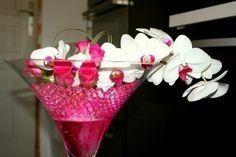 Centre de table avec perles d 39 eau d coration forum for Perle d eau decoration florale
