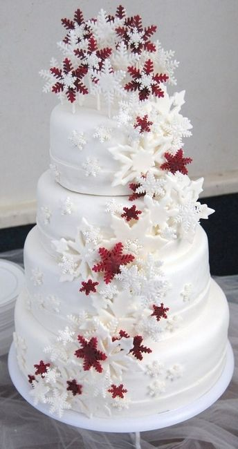 Inspiration Wedding Cake De Noel Banquets Forum Mariages Net