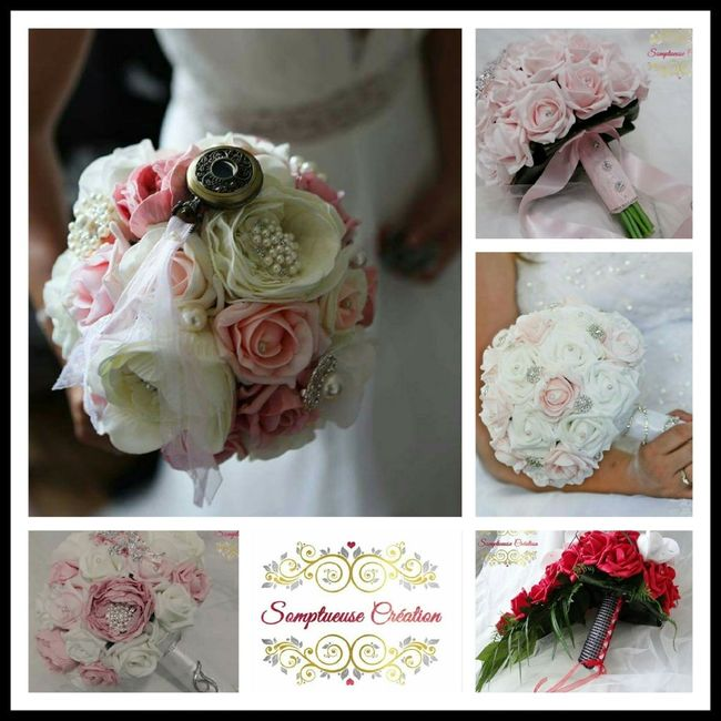 Bouquet artificiel mode nuptiale forum - Bouquet mariee artificiel ...