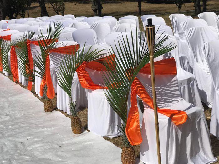 Fleur tropicale mariage thème exotique/tropical 5