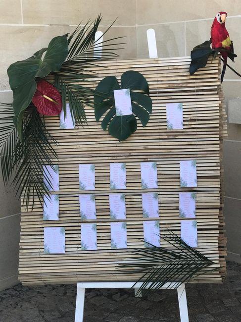 Fleur tropicale mariage thème exotique/tropical 6
