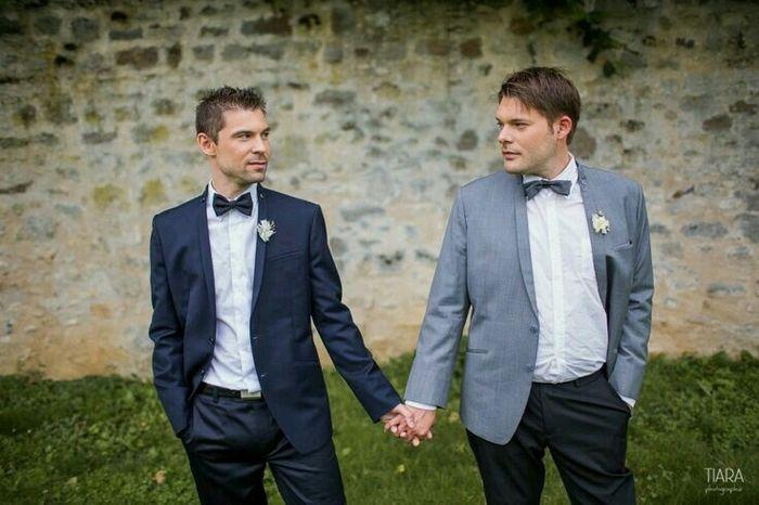Mariages lesbiennes et gays