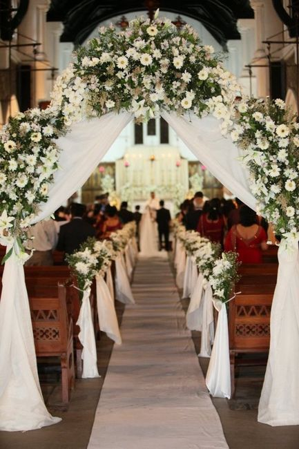 Comment d corer ses bancs d 39 glise d coration forum - Decoration eglise mariage ...
