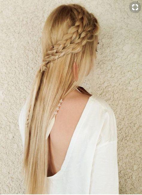 Inspiration coiffure cheveux (très) lisses 2