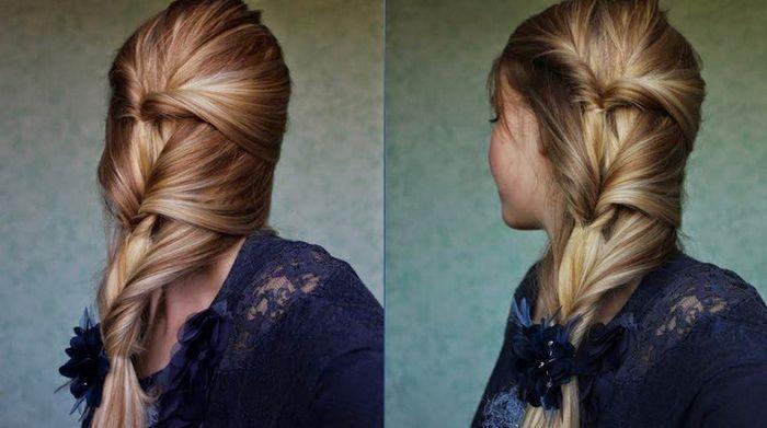 Inspiration coiffure cheveux (très) lisses 3