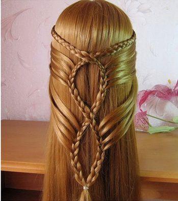 Inspiration coiffure cheveux (très) lisses 4