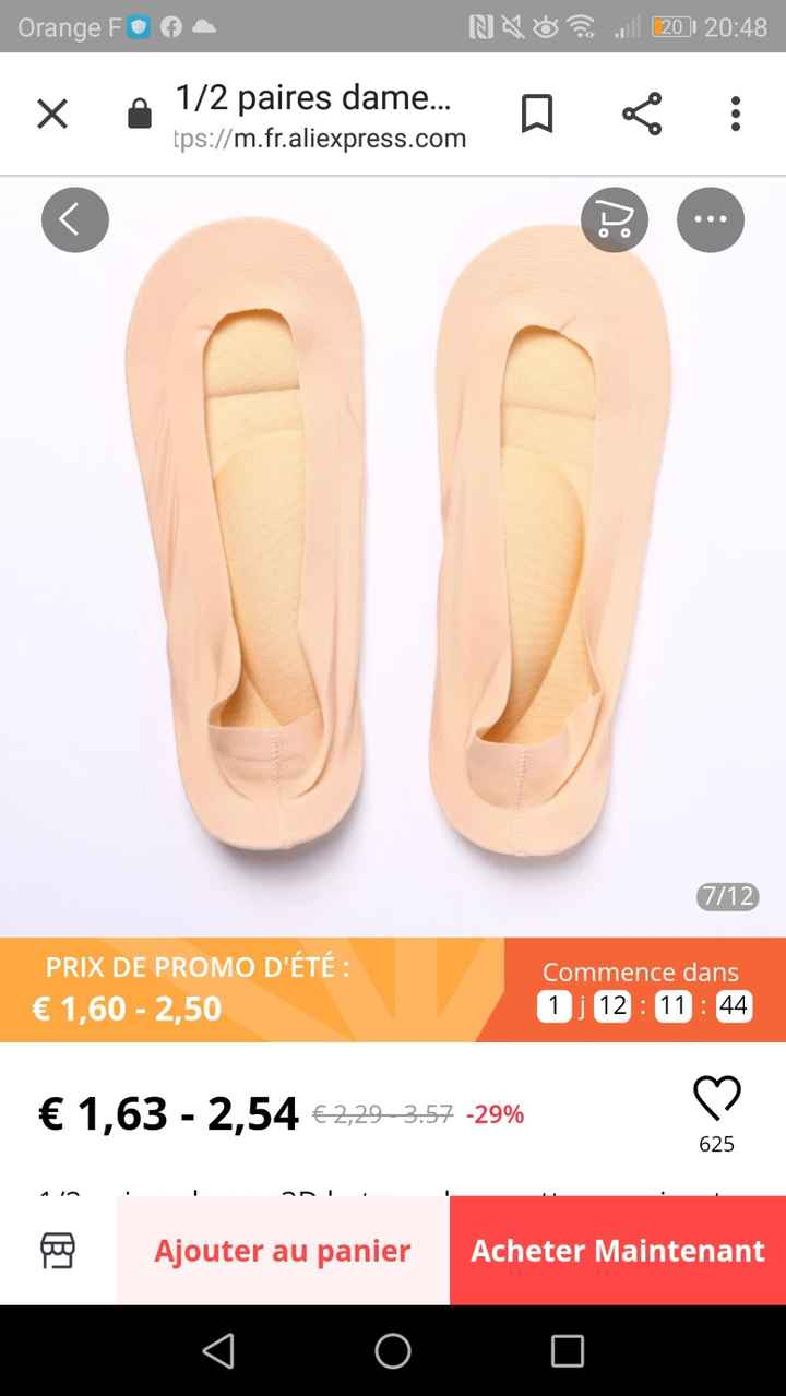 Trouvaille Aliexpress pour chaussure 1