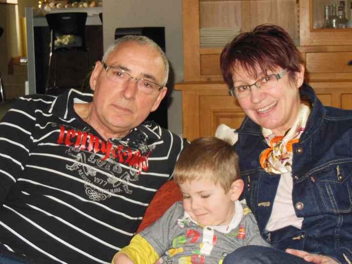 mes parents avec mon loulou