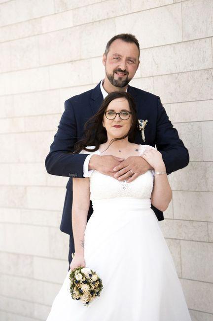 Mariée avec des lunettes 1